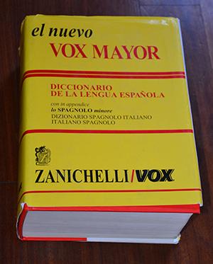 Trova libro el nuevo vox mayor dizionario spagnolo for Traduzione da spagnolo a italiano